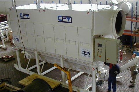 Dry-type Deduster - Type HTKS 1/750-2
