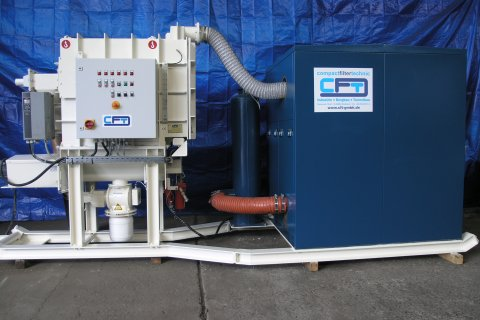 Dry cuttings extraction system